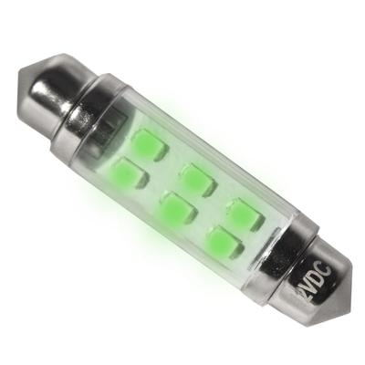 12 V Green LED Festoon