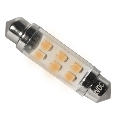 24V Yellow LED Festoon