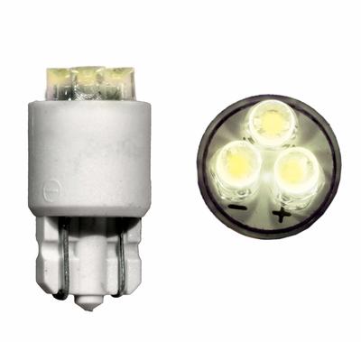 T-3 1/4 Flat Top Wedge Based LED 12V White