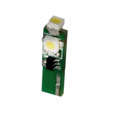 T-1 3/4 Warm White Flatwedge LED