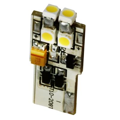 T-3 1/4 Warm White Flatwedge LED