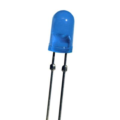 T-1 3/4 Dual Pin 5mm LED Blue - Z-213B/290TG