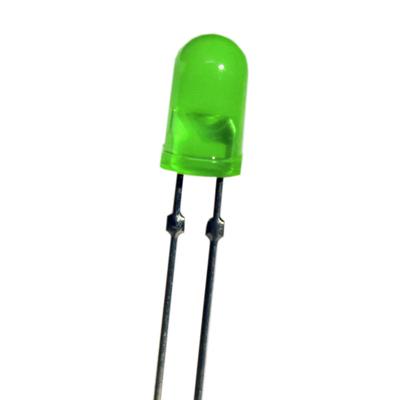 T-1 3/4 Dual Pin 5mm LED Green - Z-222G