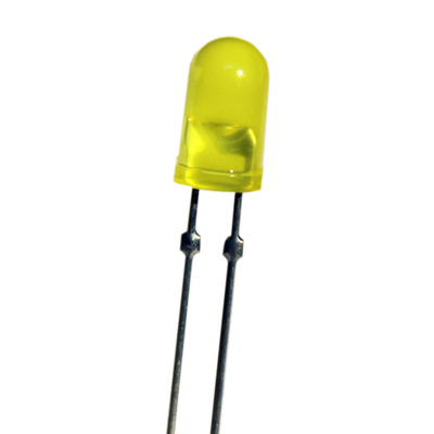 T-1 3/4 Dual Pin 5mm LED Yellow - Z-211Y