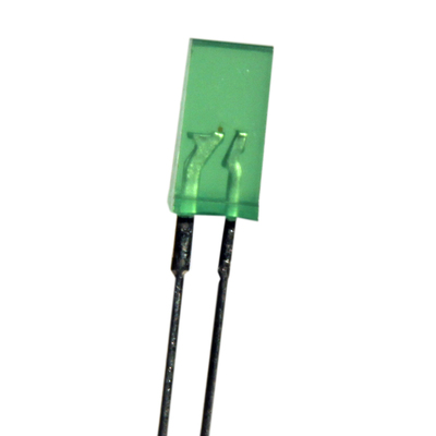 2.5 x 5mm Rectangular LED Green
