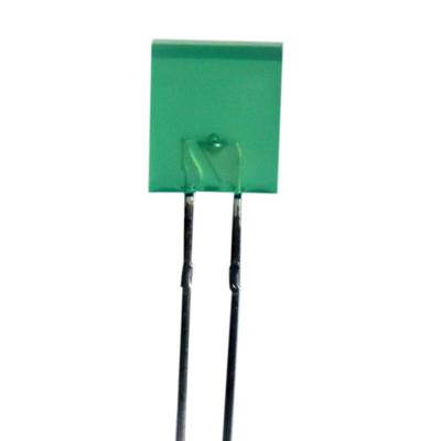 2.5 x 7mm Rectangular LED Green