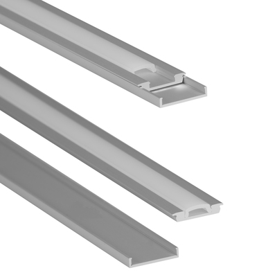 Low Profile LED Aluminum Channel Rail with Lens